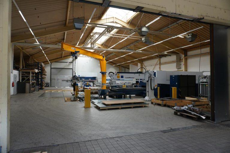 Neuer Maschinenpark