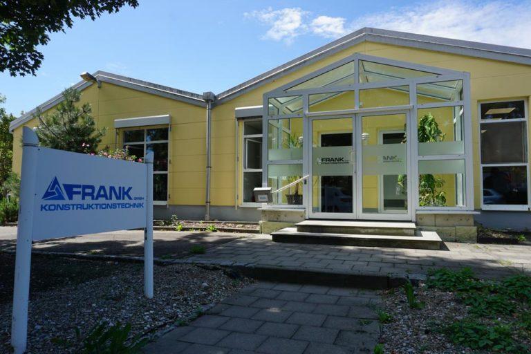 Neuer Standort Frank Konstruktionstechnik
